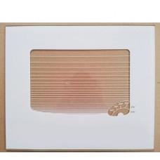 """Стекло наружное """"GEFEST"""" мод. 300, белое, с термоуказателем, 478*402мм (300.04.0.008-10)"""